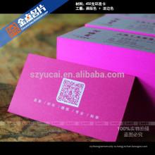 Массовое снабжение отличным качеством Офсетные бумажные визитные карточки