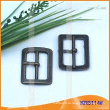 Tamaño interior 24mm Metal Hebillas para zapatos, bolsa o cinturón KR5114