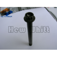 High End Black Titanium 12 Punkt Flanschschraube