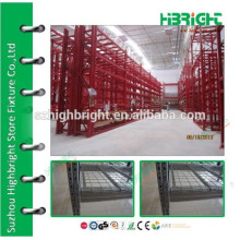 manufacturing adjustable steel storage shelves for warehouse