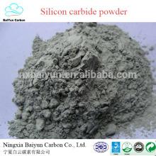 Carbure de silicium vert / noir de carbure de silicium 98,5% de carbure de silicium pour des abrasifs et réfractaire