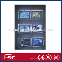 Hot sale crystal LED light box with beautiful looking
