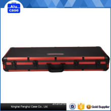 Durable and Strong Aluminum Construction Equipment Cases Gun Case Have Carrying Strap Customizable Foam Case