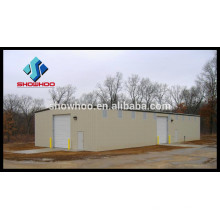 Prefab modular garden house corrugated