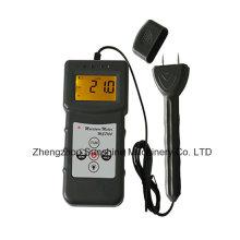 Medidor de umidade dos produtos de madeira Ms7100 para o medidor de umidade de madeira