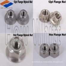 Contratuerca de nylon titanium de alta calidad del bajo precio