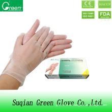 Clear Günstige PVC Exam Handschuhe