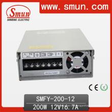 Fonte de alimentação de comutação a prova de chuva de 200W LED 5V 12V 24V