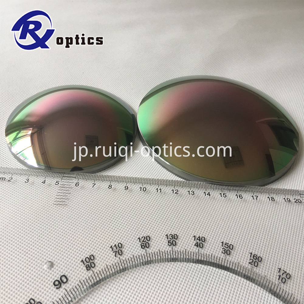 Germanium aspheric lens