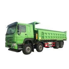 construction site sino 8x4 wheeler dump truck