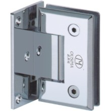 Single Side 90 Degree Zinc Alloy Shower Hinge