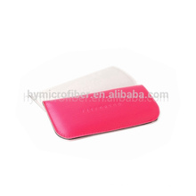 China designer PU leather waterproof ladies cell phone pouch