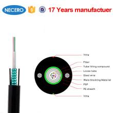 9 / 125m (OS1 y 2), Cable óptico monomodo SM de 8 núcleos para exteriores blindado, a prueba de roedores para sistemas de cableado de Aruba