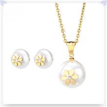 Jóias de aço inoxidável jóias acessórios de moda conjunto (js0044)