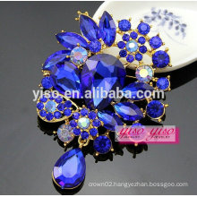 fashion jewelry diamond designed korean brooch