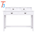 Writing Desk White Home Office Computer Desk 4 Drawer