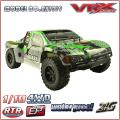 Skala von 1/10 brushless Kurzplatz LKW mit 2,4 GHz Funk, elektrische RC Spielzeugauto 4WD