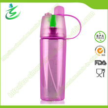 600ml Sports Mist Water Bottle with Spray Custom Logo
