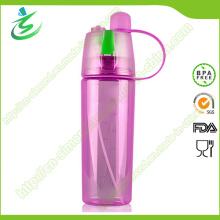 600 мл спортивная бутылка воды с распылителем Пользовательский логотип