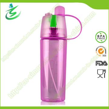 600ml Sports Mist Water Bottle with Spray Custom Logo