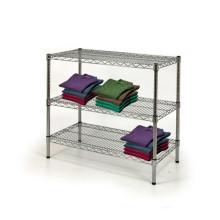Soporte de exhibición del alambre del metal, estante del soporte de exhibición para la tienda (CJ753590A3C)