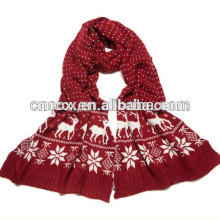 PK17ST297 new fashion ACRYLIC knitted scarf