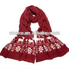 PK17ST297 nova moda lenço de malha ACRÍLICO