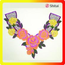 embroidery collar applique accessories