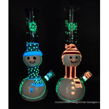 Happy Christmas Doll Style Glass Smoking Bongs