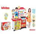 Super Western-Style Shop Kitchen Toys-Multi-Functional Kitchen Play Set