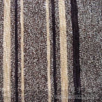 100% полиэфира Покрашенная Пряжа Синеля ткань для чехлов на диваны