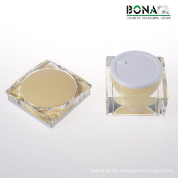 15g 25g 30g and 50g Luxury Double Wall Acrylic Jar