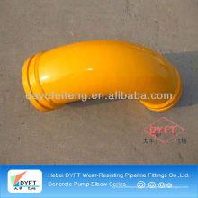 melhor qualidade Schwing de 45 graus / PM / Sany / Kyokuto cotovelo de tubulação de bomba de concreto fábrica