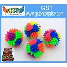 Rainbow Light Up Spike Bouncy Ball
