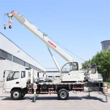 Factory made hot-sale for Small Truck Lift Mobile Crane 12 Ton Straight Boom Industrial Crane export to Myanmar Suppliers