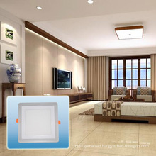 Hot Sell Double Color Square Panel Light/LED Light