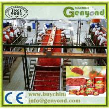 Automatischer Tomaten-Ketschup, der Maschine herstellt