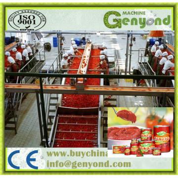 Máquina de Tomate em latas de aço inoxidável automática
