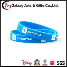 100% Eco-Friendly Silicon Material OEM Printed Wristband