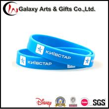 100% do silicone Eco-Friendly Material OEM impresso Wristband