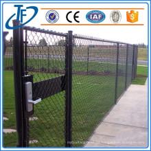 ¿Venta caliente galvanizada? Barricadas de la cerca del acoplamiento de cadena, cerca del acoplamiento de cadena del campo