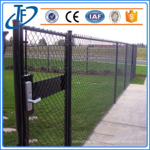 hot sell galvanized?chain link fence barricades , field chain link fence