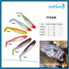 Leurre de pêche au leurre souple Vavid de longueur différente