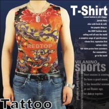 Nylon Tattoo Design T-Shirt