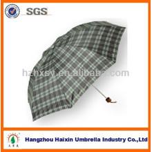 Проверьте дождь 3 складной зонтик для Промотирования