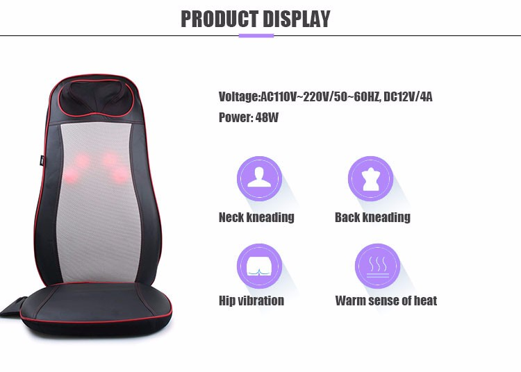 Massage Cushion with Heat