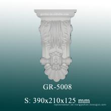 Dekorative PU-Corbels, handgeschnitzte Corbels für Säulen-Design