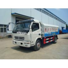 DFAC 4*2 small sealed rubbish truck for sale
