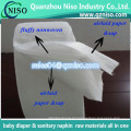 Sap absorvente papel absorvente para fralda do bebê com preço de fábrica por atacado