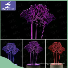 Color Changing Romantic 3D LED Night Light